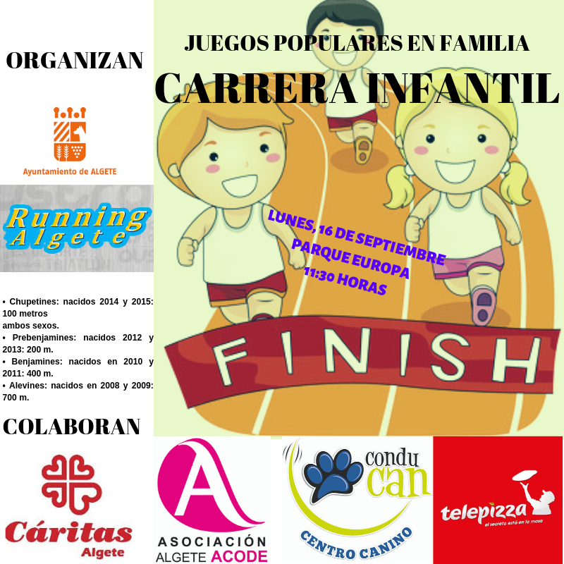CARTEL CARRERA POPULAR